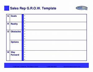 the sales coach grow model With grow coaching template