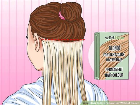 How To Dye Brown Hair Without Bleach (with Pictures)