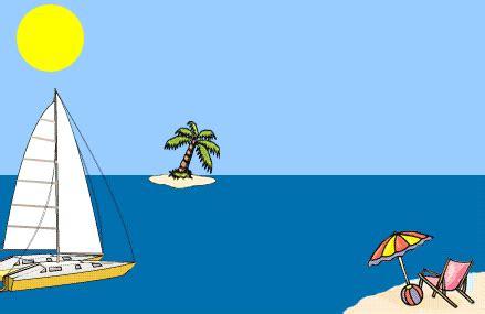 Sailboat Animation by Animated Gifs Sailboats
