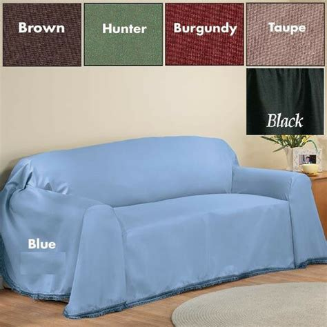 loveseat throw cover solid color sofa furniture throw cover 70 inches x 140