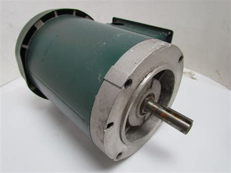 Reliance Electric Motors by Reliance Electric P56h1591m Electric Motor 3ph 3 4 Hp