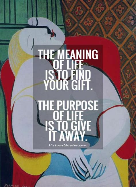 meaning  life   find  gift  purpose