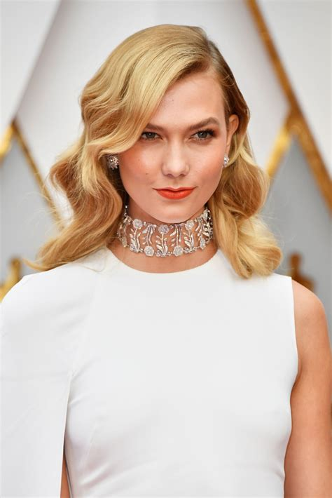 Karlie Kloss Oscars Red Carpet Hollywood Part