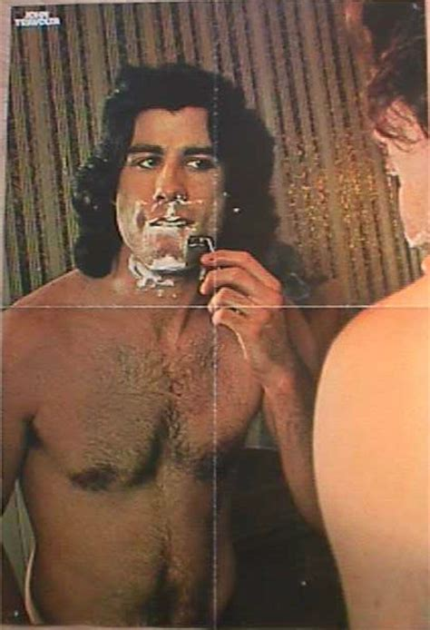 Haired Actors by Travolta Shirtless Actor Grease 70s Real
