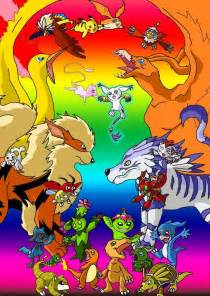 pokemon digimon to her photo
