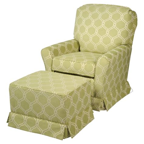 Savvy Upholstered Glider And Ottoman By Castle by Castle Cottage Ss Swivel Glider And Ottoman Set
