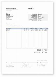 free invoice template in word excel pdf and google drive With google drive newspaper template