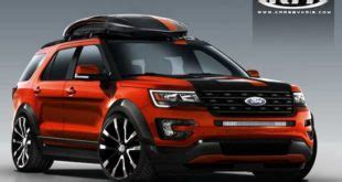 Next Ford Explorer Redesign by 2019 Ford Explorer Redesign Ford Redesigns