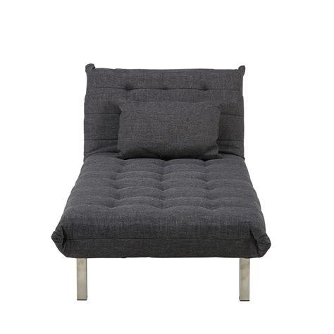 chaise de bureau maison du monde méridienne en tissu gris chiné max maisons du monde