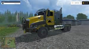 cat trucks caterpillar truck v1 0 modhub us