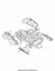 Troy Bilt 17arcbdt011 Mustang Xp Pivot S 46  2015  Parts