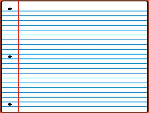 Notebook Paper Template Notebook Paper Template Lined Paper Template 17 Jpg