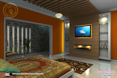 3d renderings of bedroom interior design kerala home design and floor plans