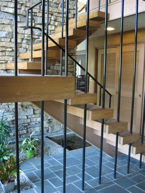 amazing mid century modern staircase design ideas