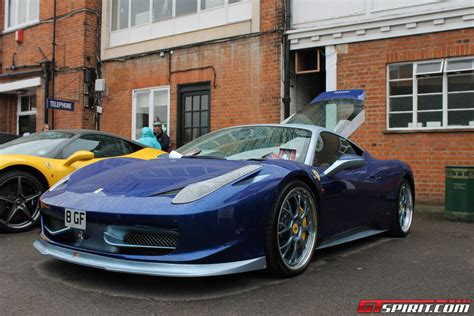 Ferrari reinforced the 458 with a spider model in 2011 and the company knew that this had to be just as innovative as the coupe. Auto Italia 2012: Evolution 2 Motorsports Ferrari 458 ...