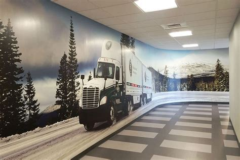 Old Dominion Freight Line Corporate Office - Wall Graphics ...
