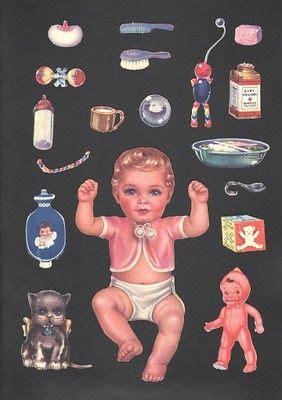 baby nancy paper dolls  beautiful queen holden set
