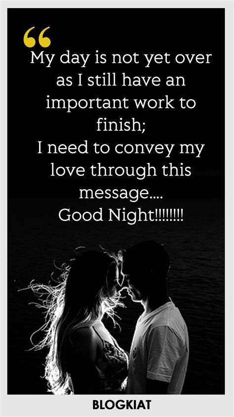 good night love quotes sayings messages  himher