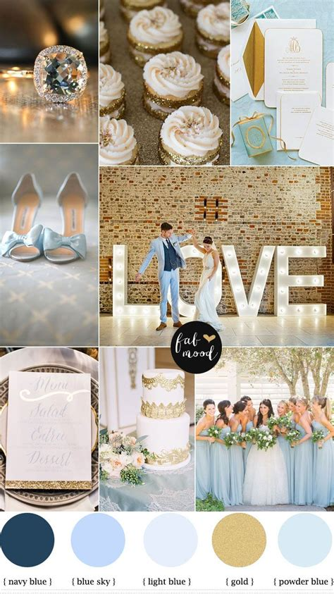 blue and gold wedding theme w e d d i n g gold