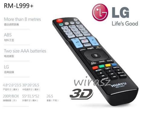Lg Smart Lcd / Led 3d Tv Remote Con (end 6/30/2018 11
