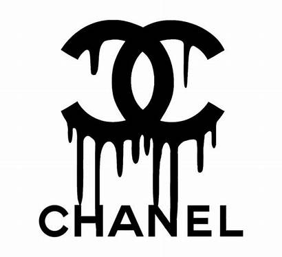 Chanel Drip Stencil Vinyl Painting Pack