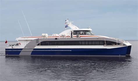 Passenger Catamaran Design by 36 M Catamaran Passenger Ferry For 192 Passengers From Stock