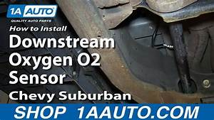 How To Replace Downstream O2 Oxygen Sensor 00