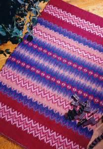 rosepath rug weaving pattern  patterns weaving