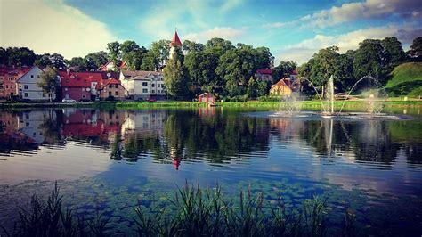 Talsu ezera promenāde | Canal, Water, Outdoor