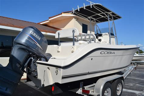 used 2010 cobia 237 center console boat for sale in vero fl y005 new used boat