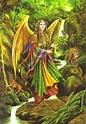 Archangel Uriel | Archangel uriel, Archangels, Angel art