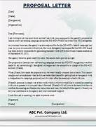 Pics Photos Business Formal Proposal Letter Informal Proposal Letter Example Writing A Project Sample Of Recommendation Letter For Project Proposal Sample Student Letter