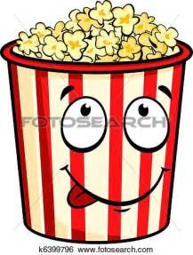 Cartoon Popcorn Clip Art