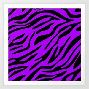 Purple Zebra Print Wallpaper - ClipArt Best