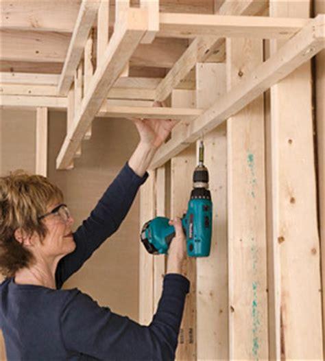 building  soffit framing basics drywall installation repair tips diy advice
