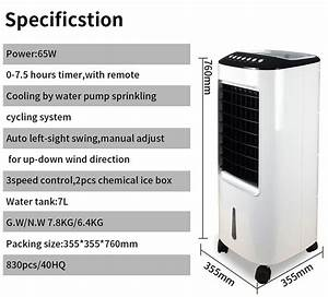 Humidifier Portable Air Cooler 4 In 1 Portable Air Cooler