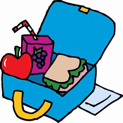 Lunch Clipart Box Lunchbox Animated Clip Transparent