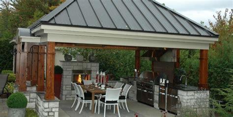 cuisine de jardin en décoration jardin barbecue