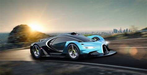 Future Cars Bugatti by Bugatti Study Makes The Chiron Seem Bland Carscoops