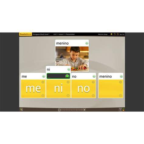 Review Rosetta Stone Portuguese (brazil) Online