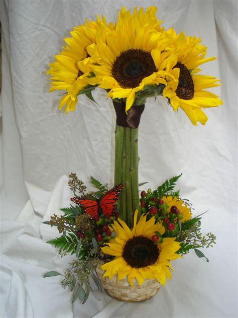 daisy flower arrangement centerpieces sunflower topiary