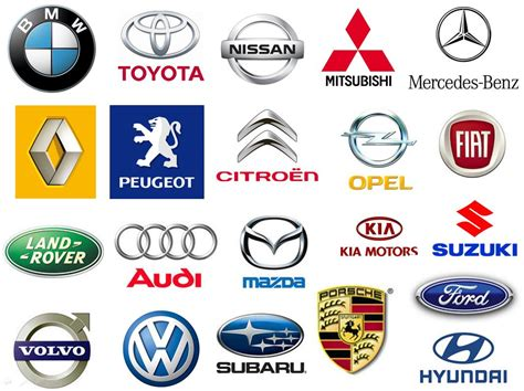 L'explication Des Differents Logos Des Marques Automobile