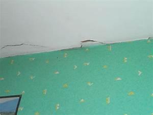 Fissure Au Plafond : grosse fissure au plafond ~ Premium-room.com Idées de Décoration