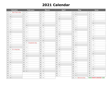 Simple to customize and print. 2021 Planner Printable