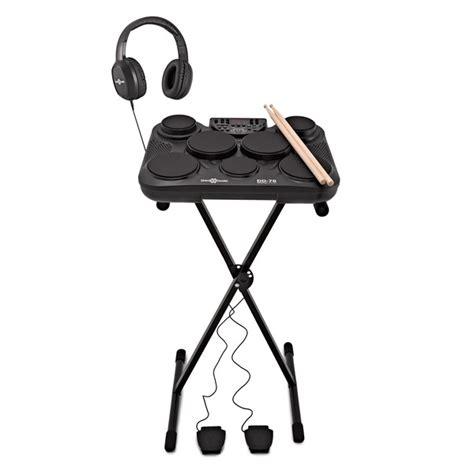 dd portable electric drum pad pack  gearmusic  gearmusic