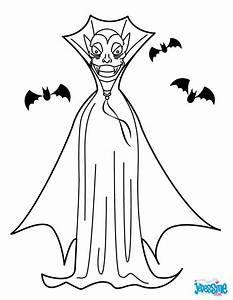 Dessin Halloween Vampire : coloriages vampire ~ Carolinahurricanesstore.com Idées de Décoration