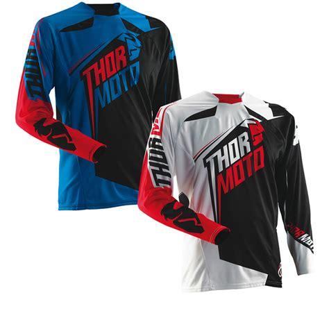thor motocross jersey thor core s14 razor motocross jersey clearance