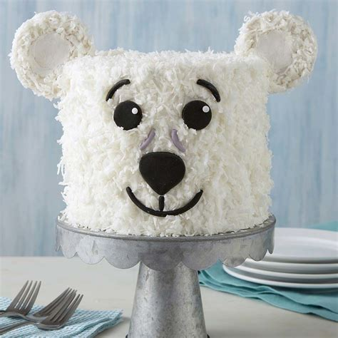 polar bear cake wilton