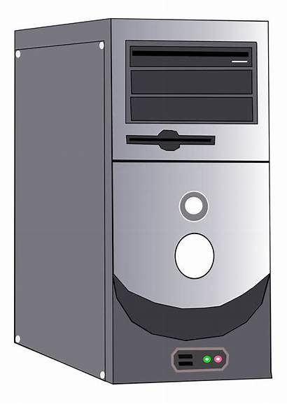 Cpu Computer Case Background System Clipart Transparent