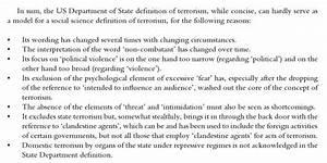 Terrorism Definition - Image Mag